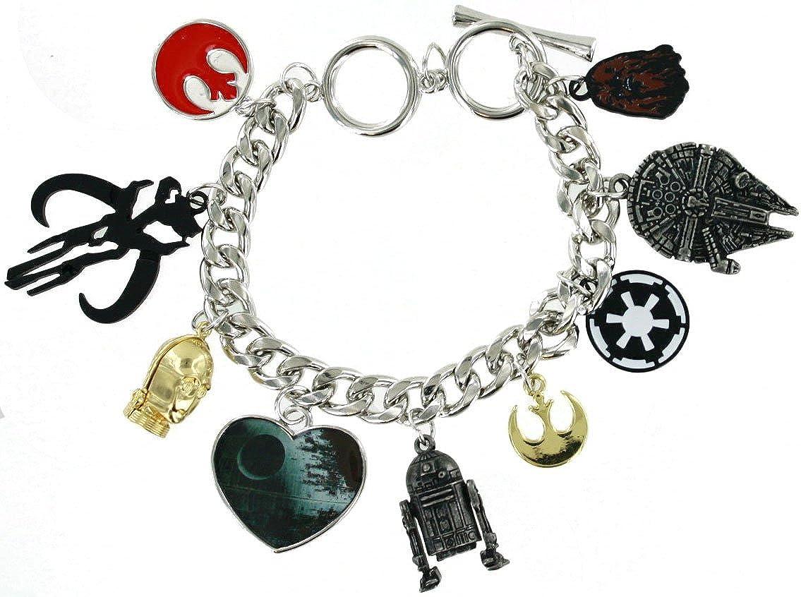 Bioworld Star Wars Charm Bracelet BV3IHNSTW