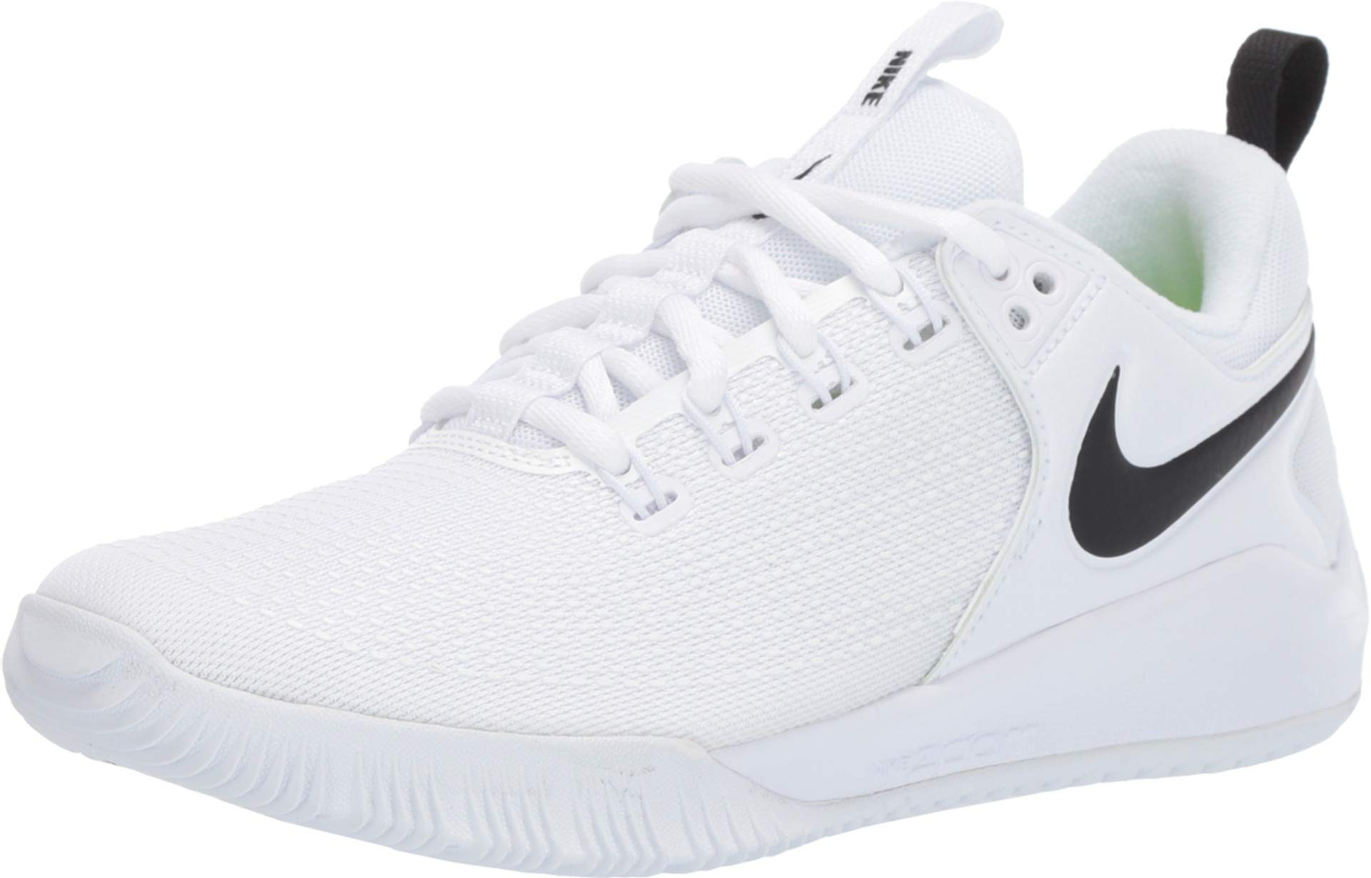 Nike Women's Zoom Hyperface 2 Volleyball Shoes (8.5 B(M) US, White/Black) by Nike