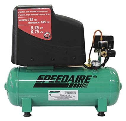 Amazon.com: SPEEDAIRE Portable Electric Air Compressor 115VAC: Home Improvement