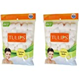 Tulips Cotton Balls 50s (Pack of 2)
