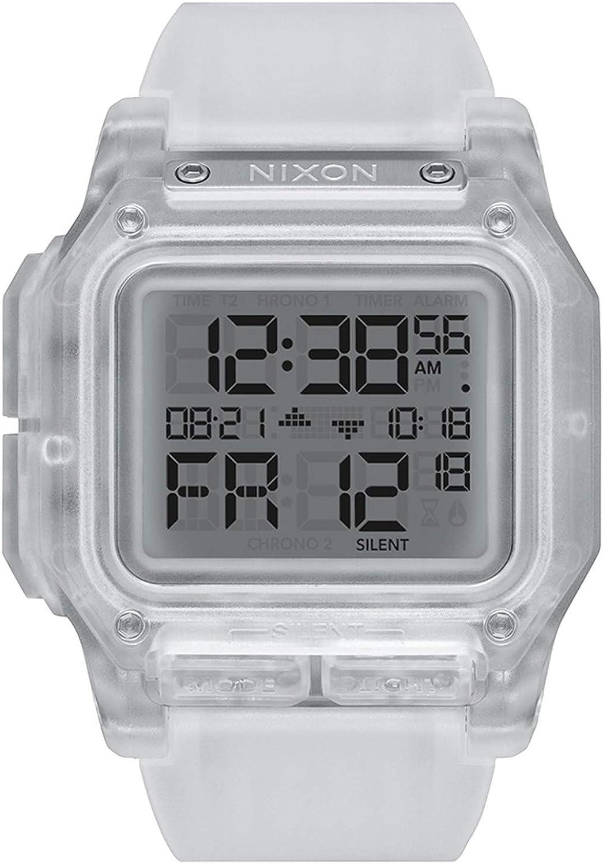 Nixon Regulus Reloj para Mujer Digital de Cuarzo japonés con Brazalete de Silicona A1180961