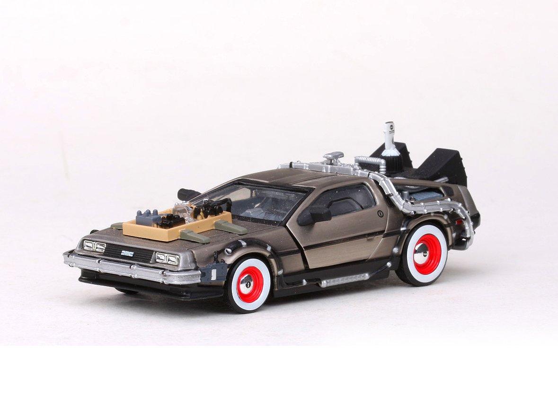 Amazon.com: Vitesse 1/43 Scale diecast 24013 Back to the Future part 3 DeLorean Time machine: Toys & Games