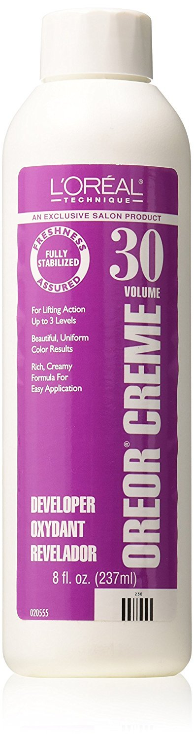L'Oreal Technique Oreor Creme 30 Volume Developer -  8-Ounces, 1-Unit