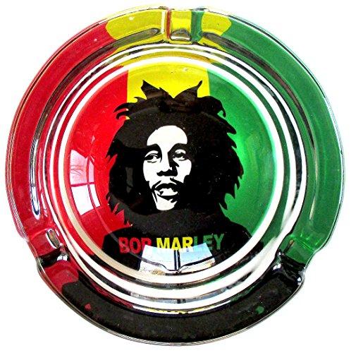 Bob-Marley-Young-Marijuana-Weed-Round-Glass-Ashtray