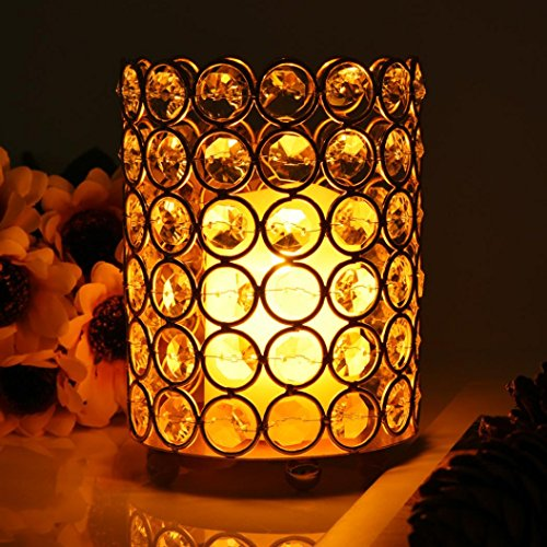Crystal Beaded Led Light Floral Bouquet - 8