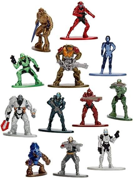 Halo Nano Die-cast Metal Wave 2 Figuras De Acción-opción de 11 Figuras-Nuevo