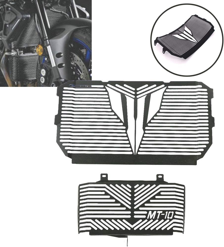 Black COPART MT 07 Radiator Guard Grille Protective Cover for Yamaha MT-07 MT07 2014 2015 2016 2017 2018