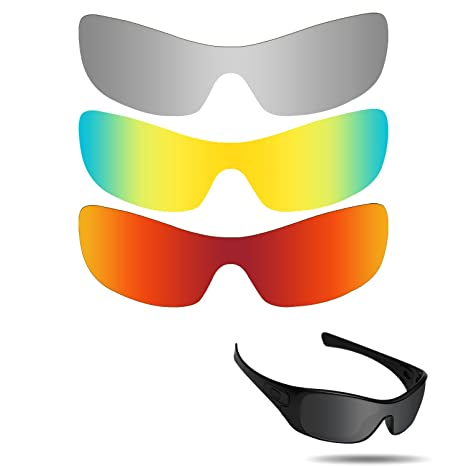 6a5114f6c5 Amazon.com   Fiskr Anti-Saltwater Polarized Replacement Lenses for Oakley  Antix 3 Pair Pack   Sports   Outdoors