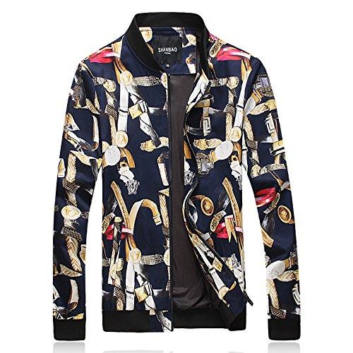 XXXL chinos Mens Chaqueta hombres plus chaquetas plus tamaño fertilizante de gran Chaqueta qPxFw6E