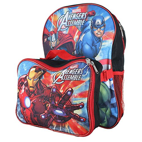 disney-nickelodeon-marvel-16-inch-kids-backpack-with-detachable-lunch-box-set-bp-5493-avengers-blk-r