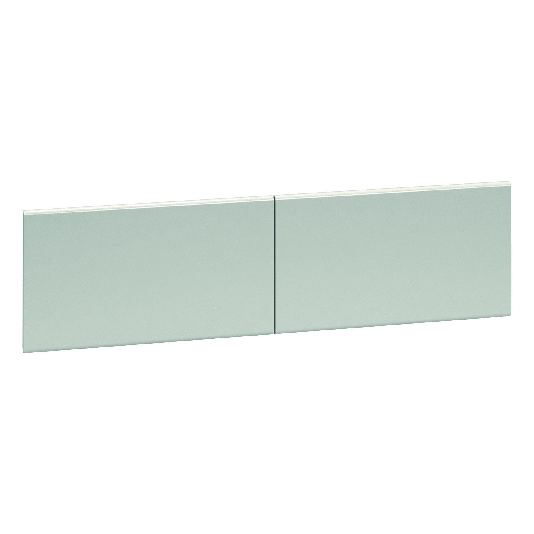 HON 386015LQ 38000 Series Hutch Flipper Doors For 60''w Open Shelf, 30w x 15h, Light Gray