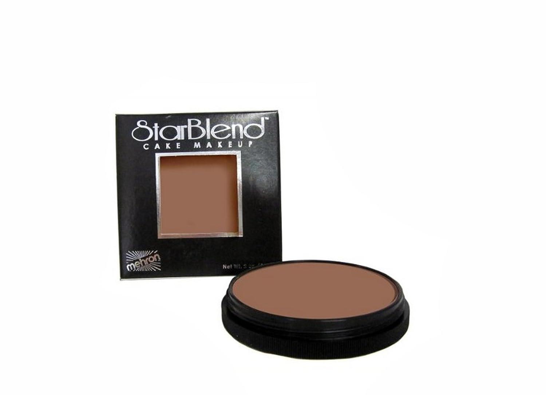 Mehron Makeup StarBlend Cake (2 oz) (Black) 110-B