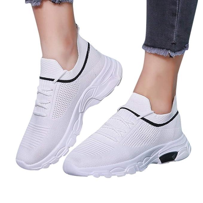 Berimaterry Zapatos de Mujer Zapatillas Respirable Mocasines ...