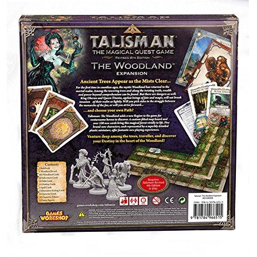 Games Workshop gaw89006 No Talisman: The Woodland Expansion, Juego ...