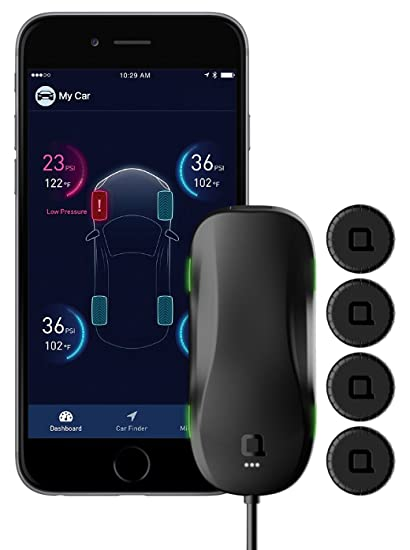 Tire Pressure Monitoring System >> Nonda Zus Accuratetemp Smart Tire Safety Monitor Tpms With App