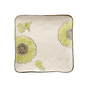 Platos Cubiertos de cerámica Occidentales de la Placa de la Carne del Filete para la Cocina del Restaurante: Amazon.es: Hogar