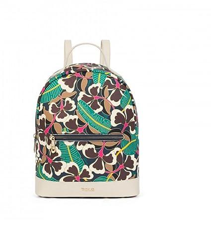 Mochila Tous modelo Flare en color multi - marfil para mujer con bolso verano Tous de