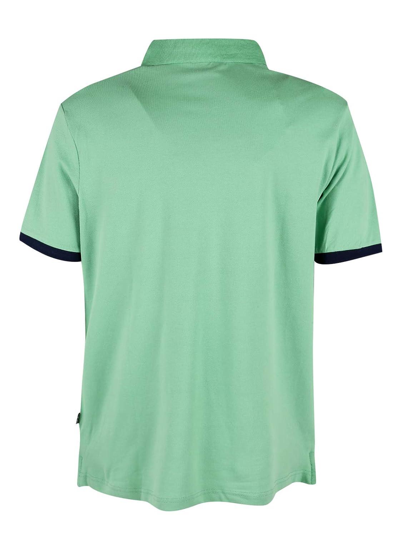 GIAN MARCO VENTURI - Polo elástico de algodón para Hombre Verde ...