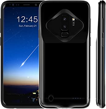 FugouSell Samsung Galaxy S9 Plus Battery Case, Extended Battery ...