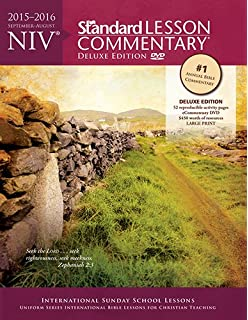24 niv standard lesson commentary deluxe edition 2017 2018 niv standard lesson commentary deluxe edition 2015 2016 fandeluxe Choice Image