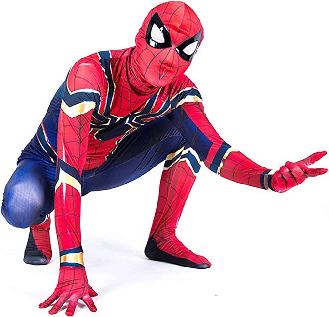 Baipin Disfraz de Spiderman Traje de Mono de Vengadores ...