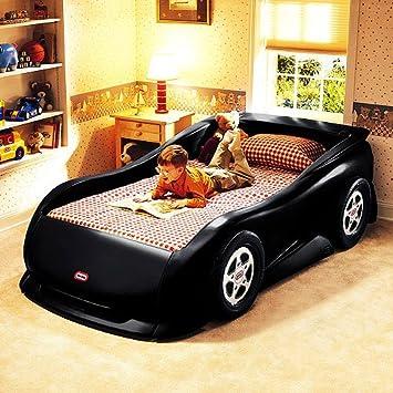Little Tikes Sports Car Twin Bed Black