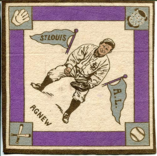 - Sam Agnew Purple Basepaths 1914 B18 Blanket