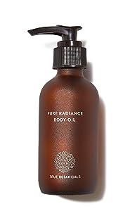 True Botanicals - Organic Pure Radiance Body Oil | Clean, Non-Toxic, Natural Skincare (3.9 fl oz | 114 ml)