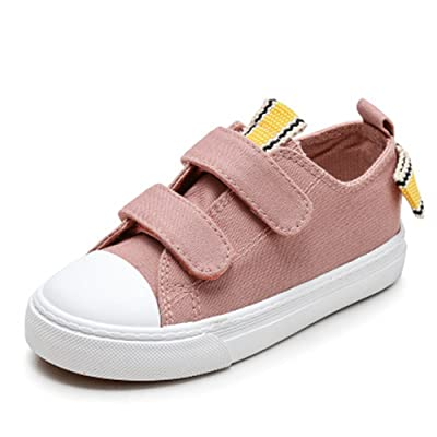 Believed Kids Sneakers Slip on Canvas with Laces for Children- Girls and Boys Youth - Causal Comfortable