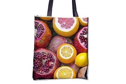 Frutas, refresco, fresco, limón Allover impresa bolsos ...