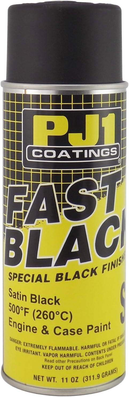 PJ1 16-SAT Satin Black Satin Engine Spray Paint