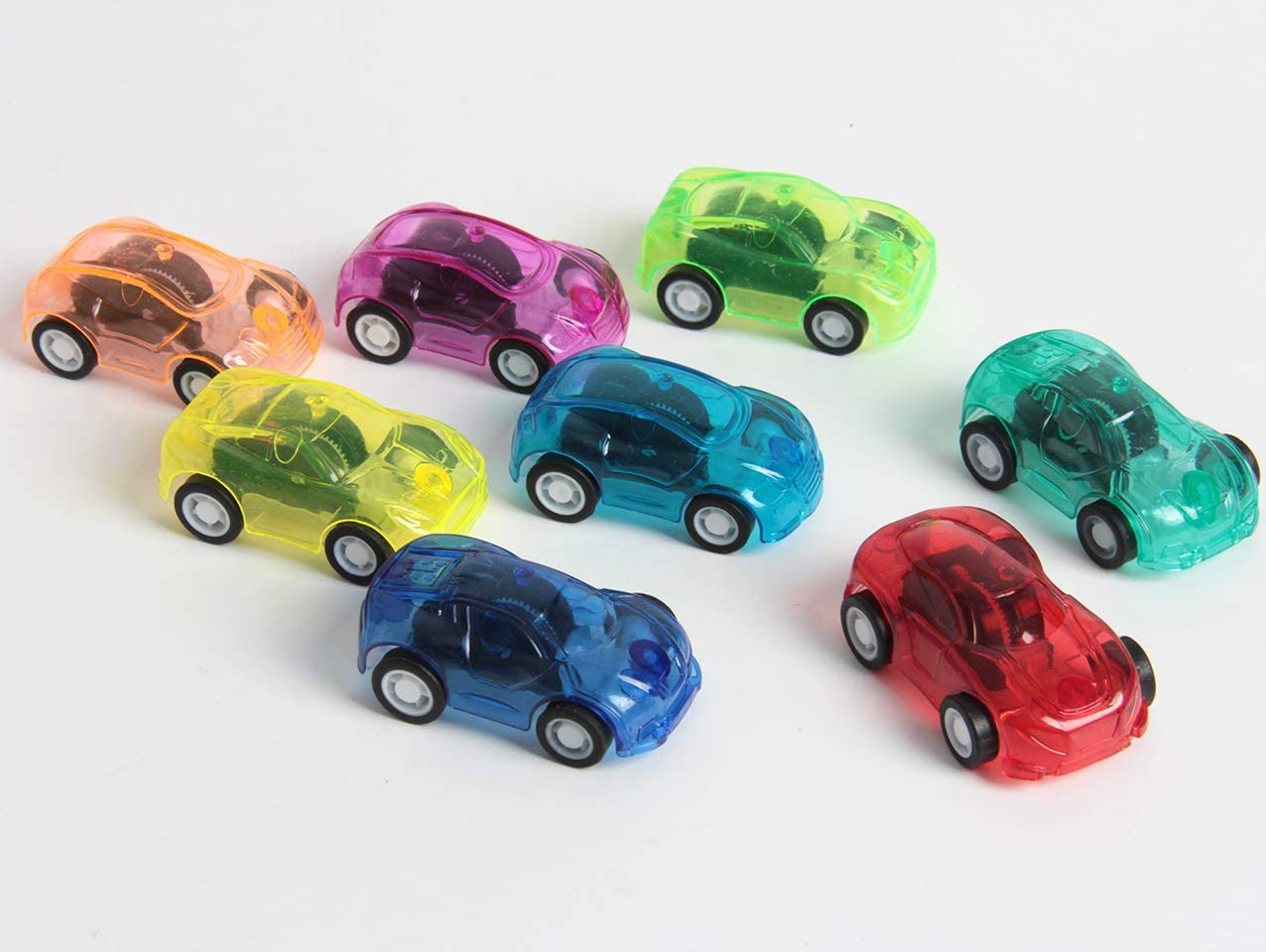 Assorted Colors Racer Vehicle for Party Favor 3 Dozen SBYURE 36 Pack Mini Pull Back and Let Go Fast Racing Car Goodie Bag Fillers,2 Inch Birthday Theme