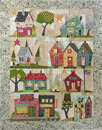 (My Kinda Town Paper-pieced Quilt Pattern by Peggy Larsen from Fiberworks Inc. 42