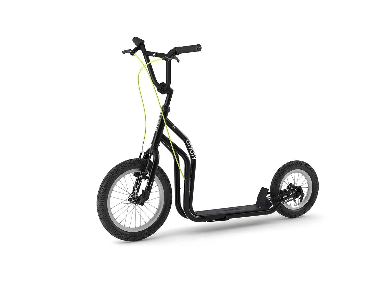 yedoo Blanco - oro - kickbike - Patinete con neumáticos para ...