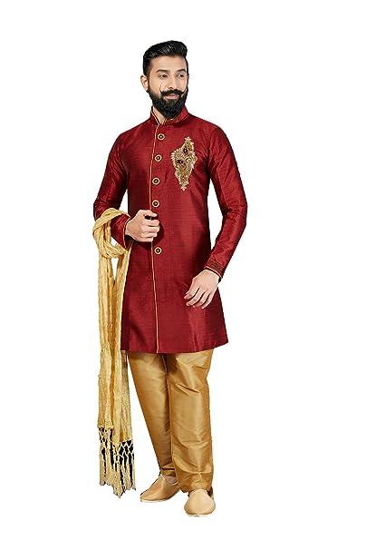 Amazon.com: daindiashop-usa Kurta pijama para hombres indio ...