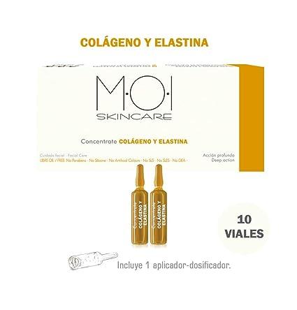 Ampollas faciales CONCENTRATE COLÁGENO Y ELASTINA 10 viales 2ml. M·O·I SkinCare
