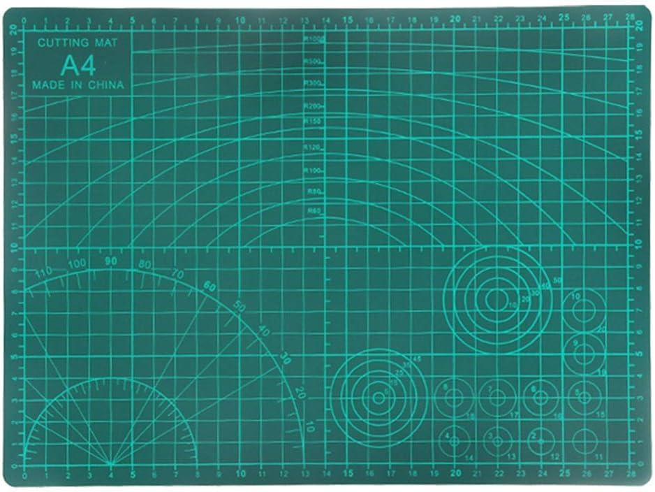 Tomaibaby Alfombrillas de Corte Autocurativas Alfombrilla de Corte Antideslizante Ideal para Álbumes de Recortes Costura Proyectos de Manualidades 9 X 12 Pulgadas (A4): Amazon.es: Hogar