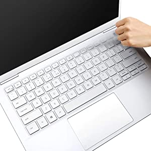 """MUBUY Keyboard Cover for 2020 2019 New Dell Inspiron 14 5000 5490 5493 5498 7400 7490 14"""", Dell Inspiron 13 5390 5391 7390 7391 13.3"""", Dell Vostro 13 5390 5391 5490 