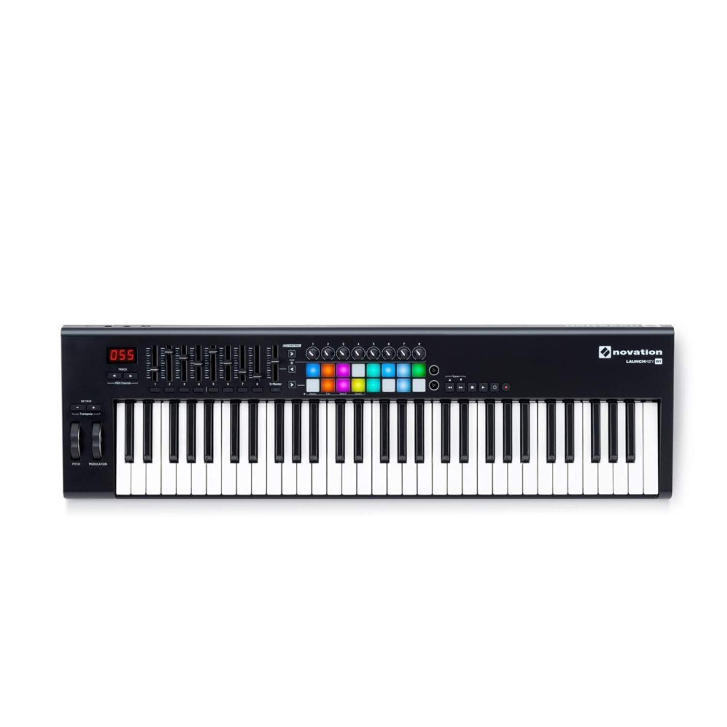 Novation Launchkey 61 MK2 Keyboard Controller with Knox Keyboard Stand and Sustain Pedal by Novation (Image #2)