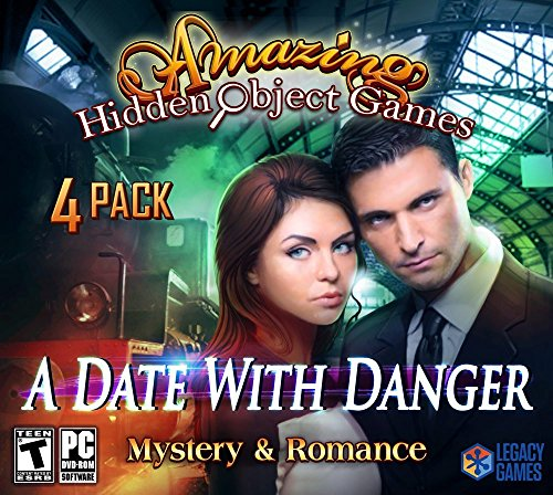 A Date with Danger: Amazing Hidden Object Games (4 - Game Puzzle Cd