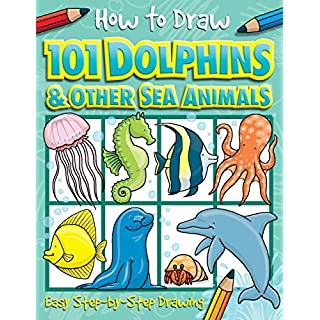 How to Draw 101 Dolphins (4)