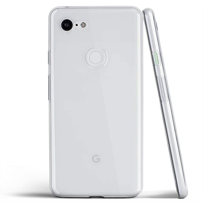 new product 26382 96e34 Clear Pixel 3 XL Case, Thin Soft Cover Slim Flexible TPU - for Google Pixel  3XL (2018) - totallee (Transparent)