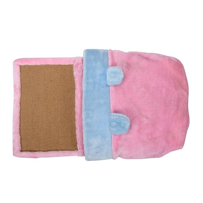 yunt mascota gato cama nido de sisal juguetes algodón con rascador ...