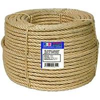Ronets - Cuerda cableada sisal 4c - 6mm 200m.