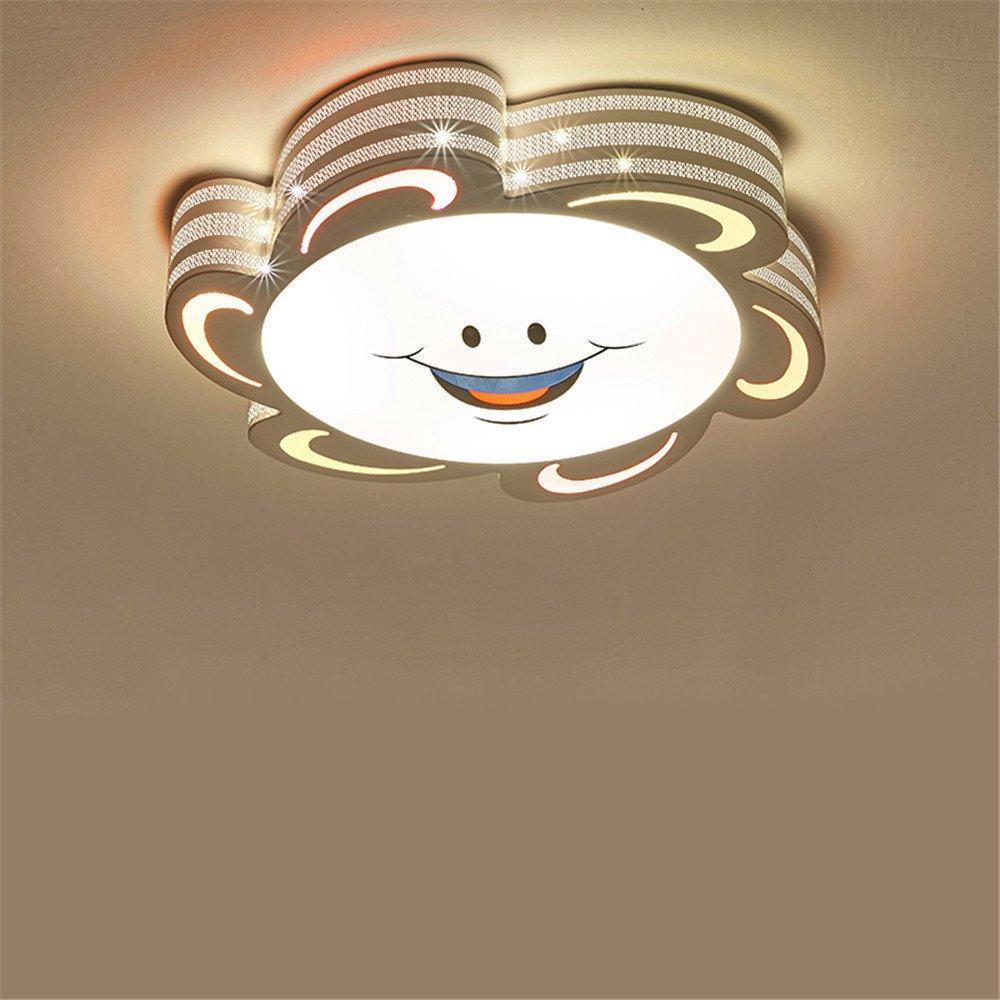 Kinderzimmerlampe modernen minimalistischen minimalistischen minimalistischen Jungen und Mädchen kreative LED-Decke Wohnzimmer mit Schlafzimmerlampe Restaurant Lichter, Drei-Farben-500  500  90mm 4b733f