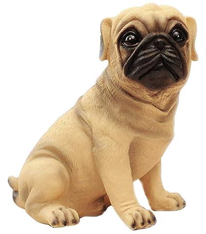 Amazoncom Mathewart High Emulation Resin Creative Cute Puppy Pug