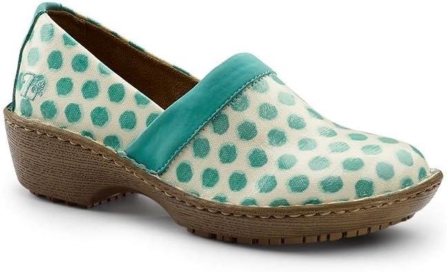Teal Slip Resistant Clogs