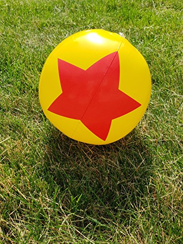Wonder Women Favor Beach Balls -12 Pack Birthday Party Theme for Kids Adults Gift Girls Boys Superhero Red Star Goodie Bag Filler Summer Pool Inflatable Indoor Outdoor Fun ()