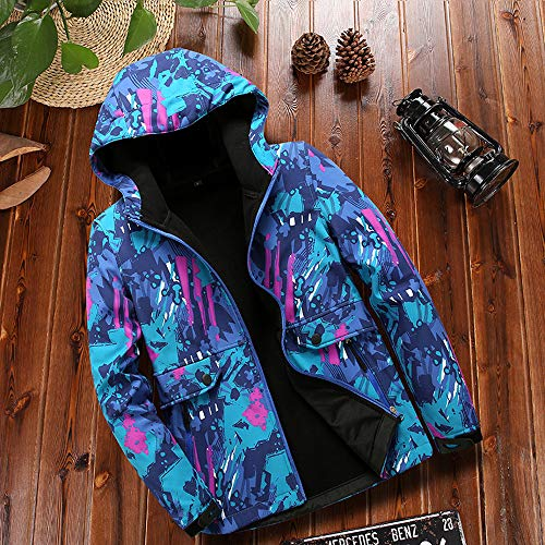 Women's Fleece Inside Camouflage Soft Shell Hoodie Outdoor Outfit Assault Waterproof Casual Sports Coat