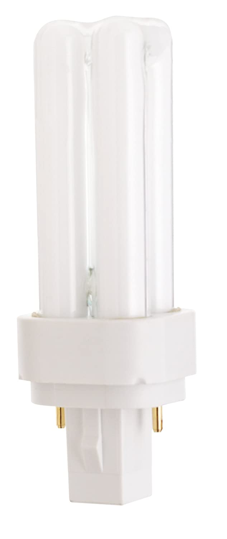 Satco S8316 3500K 9-Watt G23-2 Base T4 Quad 2-Pin Tube for Magnetic Ballasts
